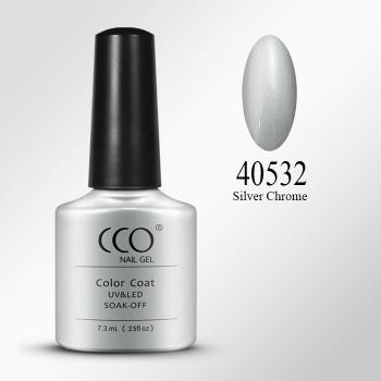 CCO UV LED Nagellack - Silver Chrome