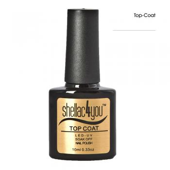 shellac4you UV LED Nagellack - Top Coat