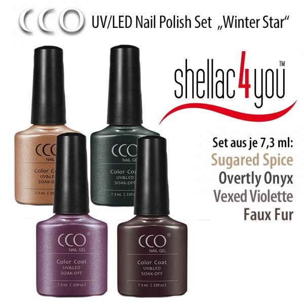 CCO UV/LED - Set Winter Star